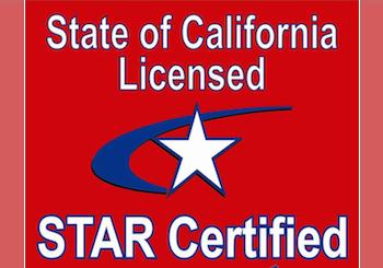 CA LICENSED TEST STATION